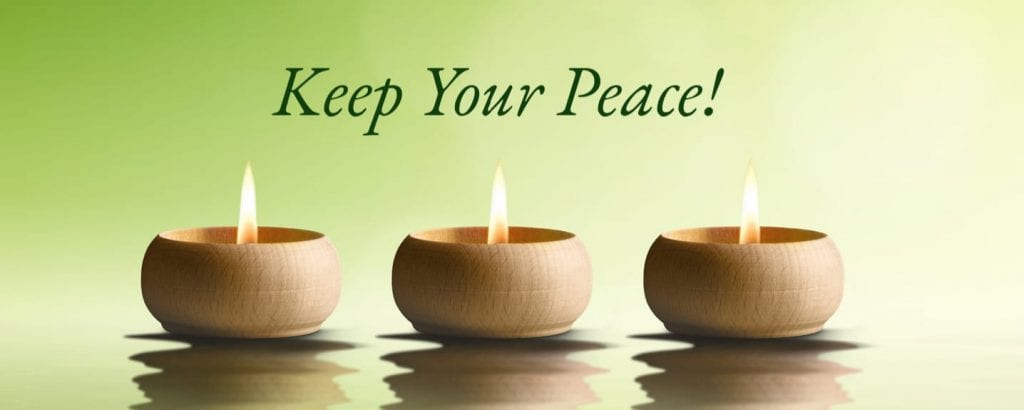 Keep Your Peace