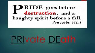 PRIvate DEath